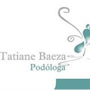 Podóloga Tatiane Baeza